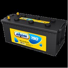 Автомобильный аккумулятор АКОМ 6СТ-190 190 Ач