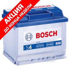 Аккумулятор BOSCH S4 Silver 60 Ач